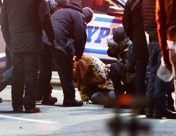 Jennifer Lawrence gặp chấn thương khi đang quay phim. Ảnh: Marc Vasconcellos.