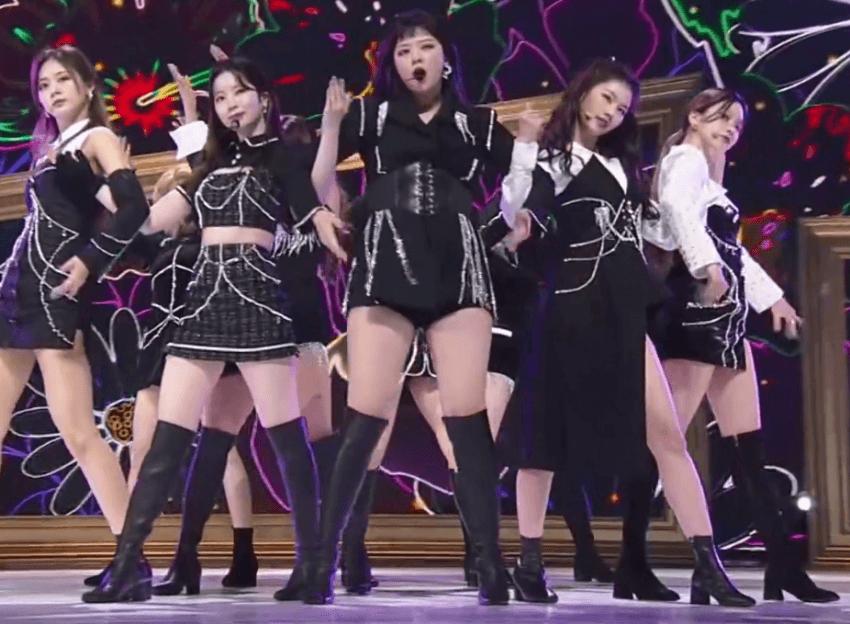 Twice bị chê body kém hoàn hảo ở một số góc hình.