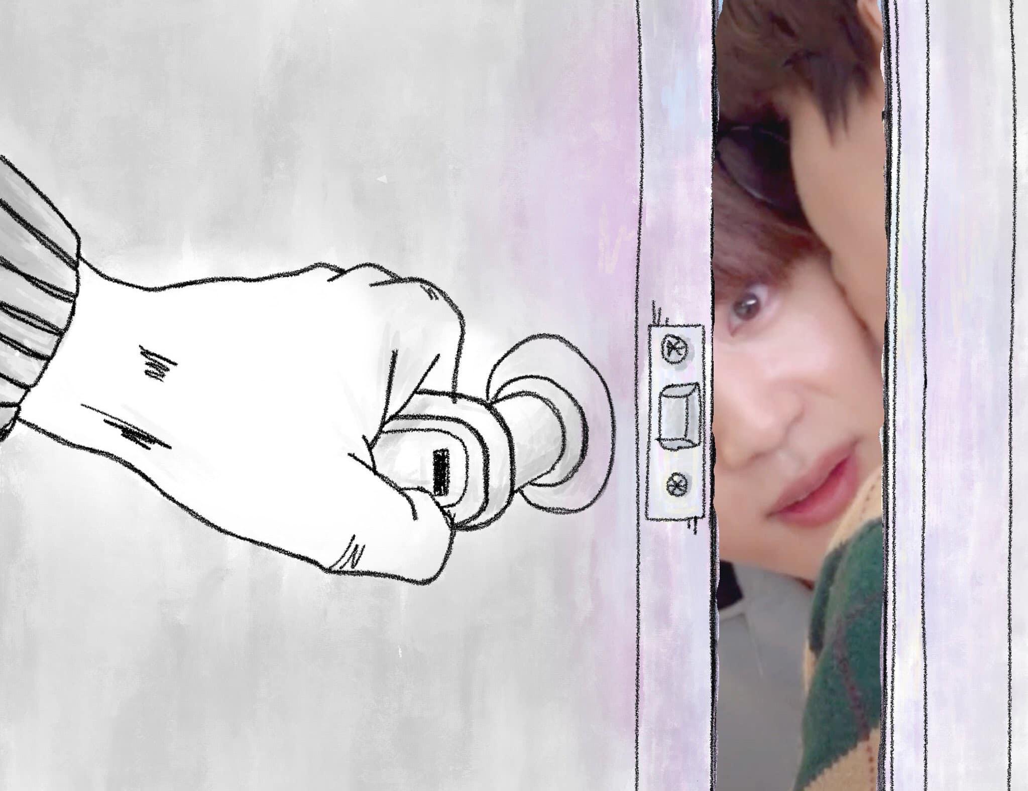 Khoảnh khắc dễ thương và hài hước của V - Jin trong tập Run mới nhất cũng được đem ra chế ảnh.