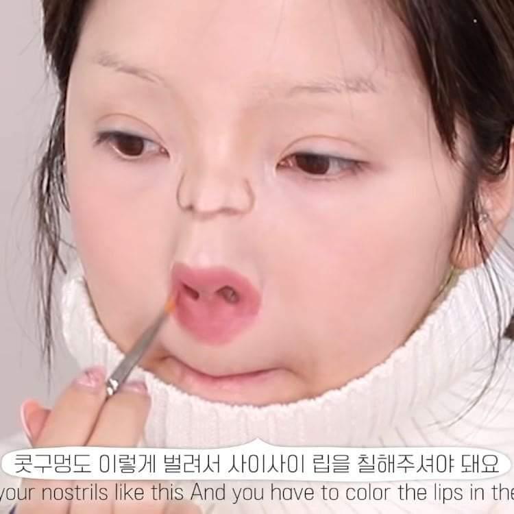 Màn hóa trang thành em bé của nữ Youtuber Hàn Quốc gây sang chấn tâm lý - 12