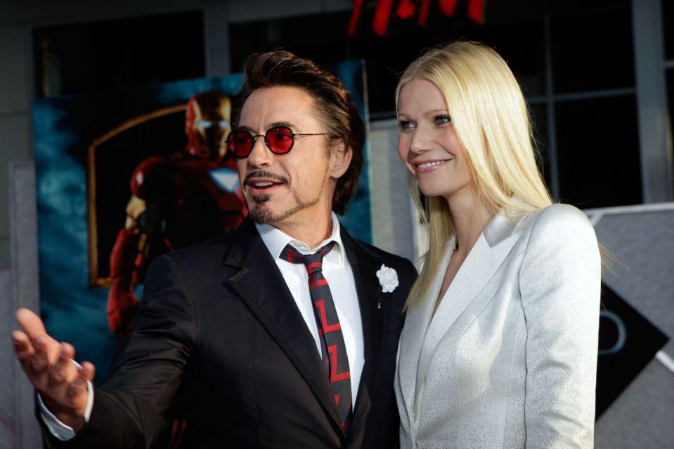 Ngoài đời, Paltrow và tài tử Iron Man cũng khá thân thiết. Ảnh: WireImage.