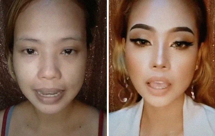 Thần thái phèn phèn rồi cũng sẽ thành kiều nữ sang chảnh nếu bạn biết makeup.