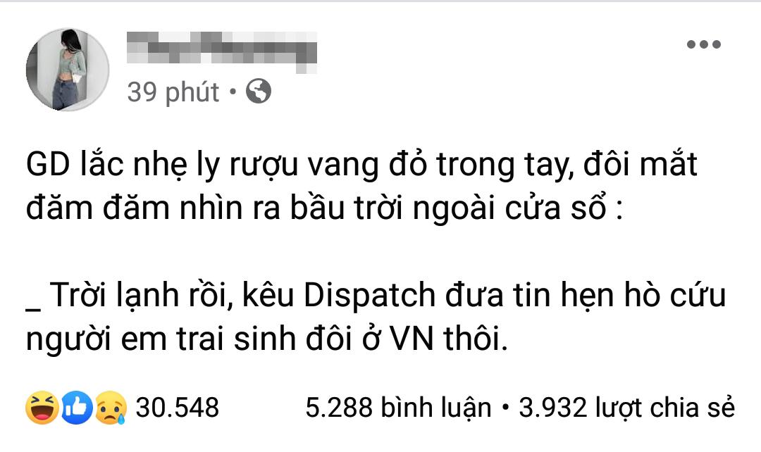 Netizen bắt trend Sơn Tùng Hàn Quốc cứu GD Việt Nam cực nhạy - 2
