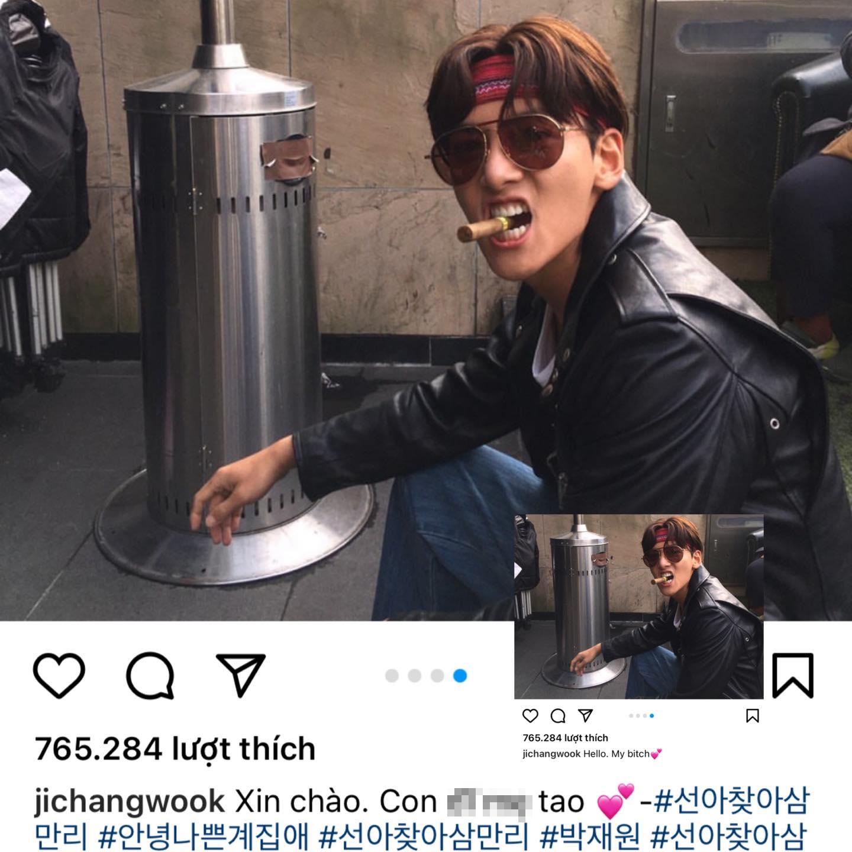 Nam diễn viên Ji Chang Wook không phải đang nói bậy đâu. Anh chàng chỉ thật thà quảng bá cho bài hát Hello, my B*tch trong bộ phim anh đóng vai chính Lovestruck in the City thôi!