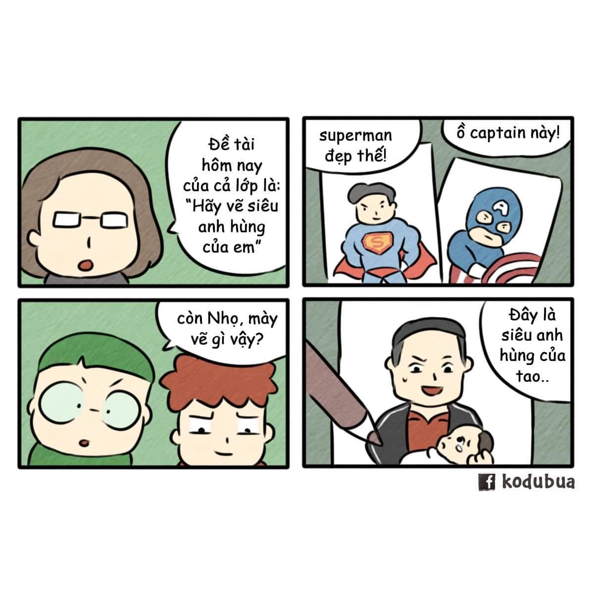 Caption American, Super Man... chỉ có trong phim, còn anh hùng ngoài đời thực từ giờ sẽ gọi tên anh Nguyễn Ngọc Mạnh. Ảnh: kodubua.