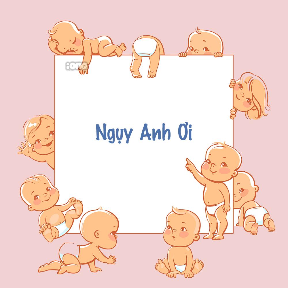 Nhờ fan đặt tên cho con, An Nguy nhặt được cả rổ tên đẹp - 4