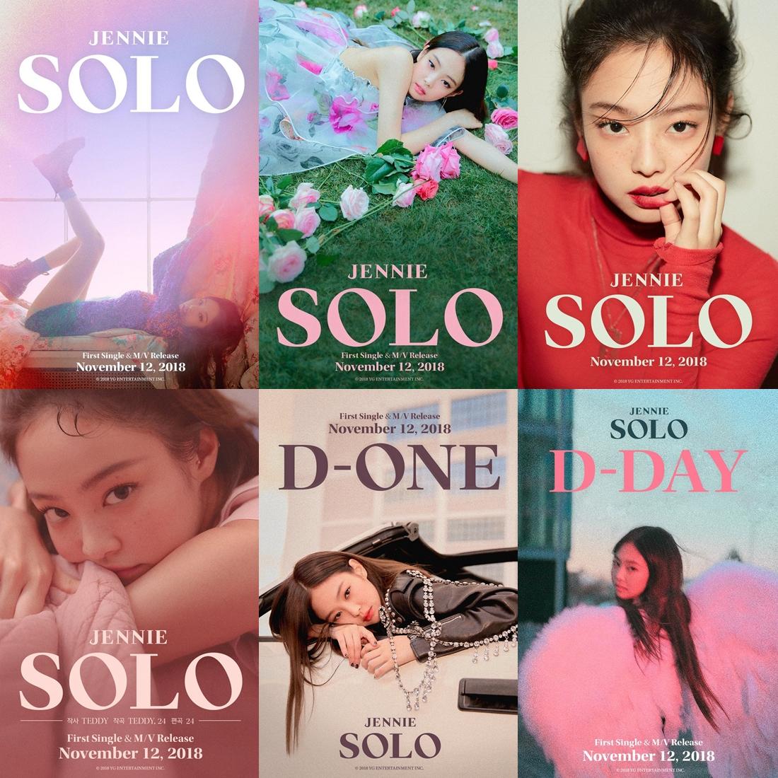 Jennie được đầu tư nhiều concept, hình ảnh bắt mắt trong đợt debut solo.
