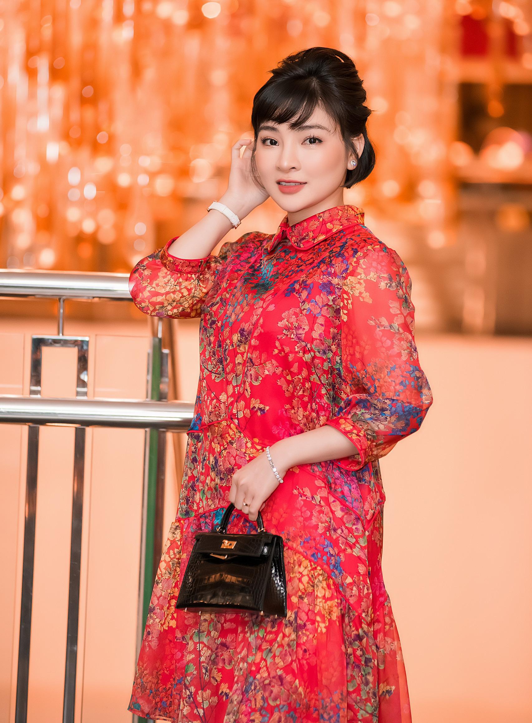 Vân Nguyễn trong sự kiện mới.