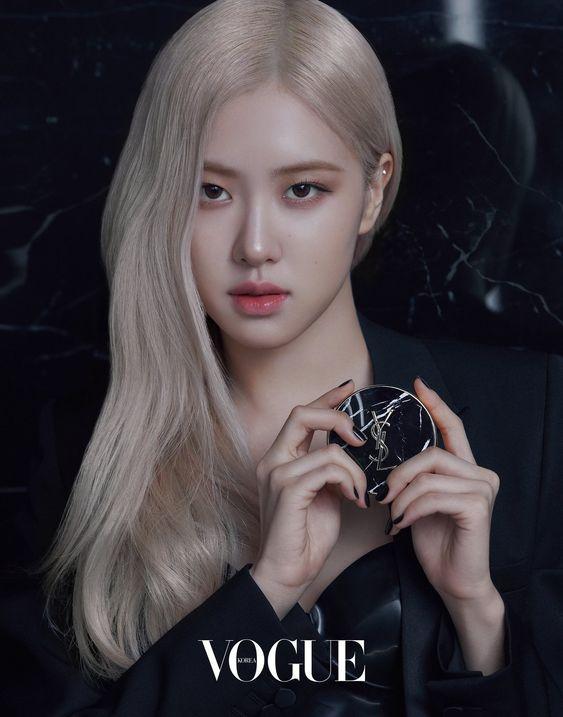 Tháng 1/2021, Rosé được Vogue Korea giới thiệu là nàng thơ mới của Yve Saint Laurent beauty.