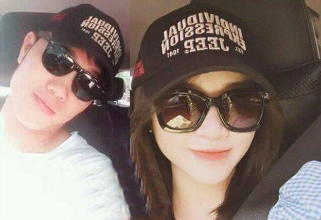 Một vài bức ảnh hiếm hoi Xuân Trường và bạn gái Nhuệ Giang.
