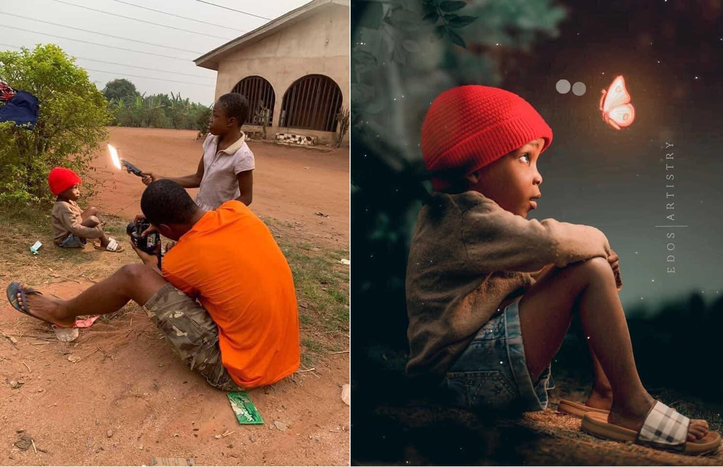 Trang Afropreneuriat đăng tải các hình ảnh cùng lời nhận xét: Nhiếp ảnh gia thật tài năng.