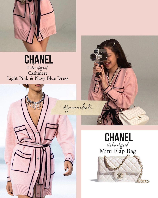 Trước đó, trên tạp chí, Jennie cũng diện một thiết kế tương tự của Chanel, tuy nhiên là phiên bản cardigan dáng dài, trị giá 6.500 USD. Nhiều người nhận xét khi được makeup, làm tóc, đeo phụ kiện chuẩn concept, cô nàng trông sang, xịn hơn hẳn.