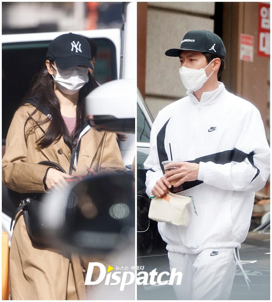 Hồi đầu  2021, Dispatch cũng mở hàng bằng loạt ảnh hẹn hò của Hyun Bin và Son Ye Jin.