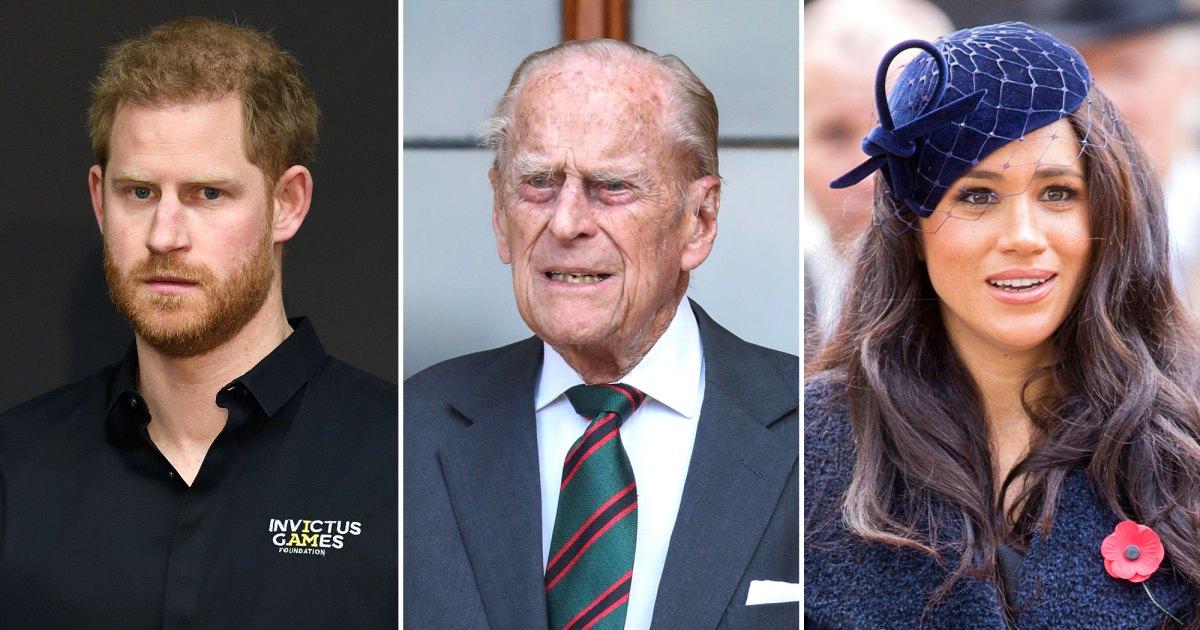 Maghan không về dự đám tang của Hoàng thân Philip.