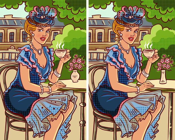 Bạn có thể tìm tối đa bao nhiêu điểm khác biệt trong hình? - 1