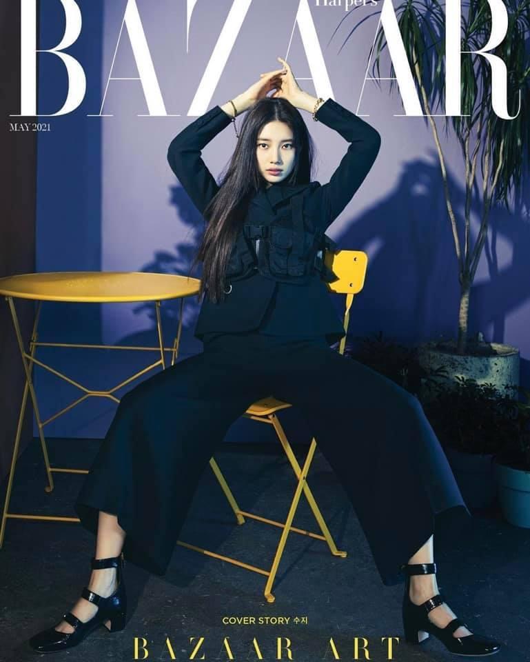Là ngôi sao hiếm hoi đã mở khóa lục đại tạp chí của xứ sở kim chi, từng lên bìa tạp chí đến 64 lần, Suzy không bao giờ gây thất vọng mỗi khi xuất hiện.