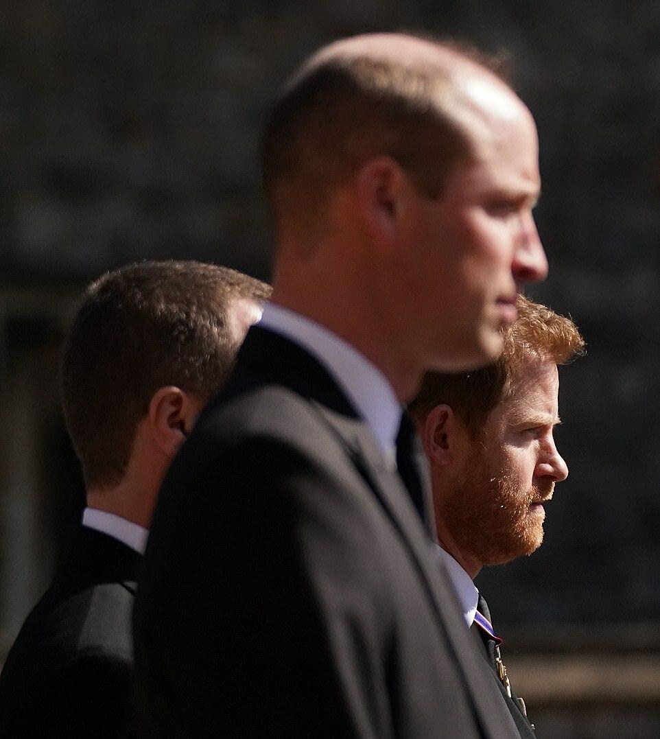 Gương mặt trầm buồn của Harry.