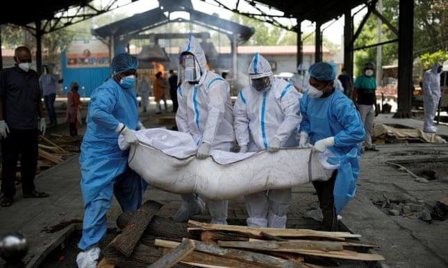 Ấn Độ phá kỷ lục thế giới, tăng hơn 314.000 ca nhiễm một ngày