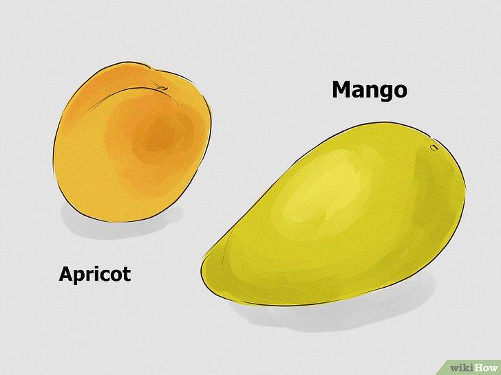 6. Thực hành hôn trái cây. Tìm trái cây chín mềm như mận, đào hoặc xoài...