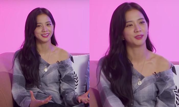 Ji Soo bị cộng thêm vài tuổi vì đổi style lông mày sâu róm - 4