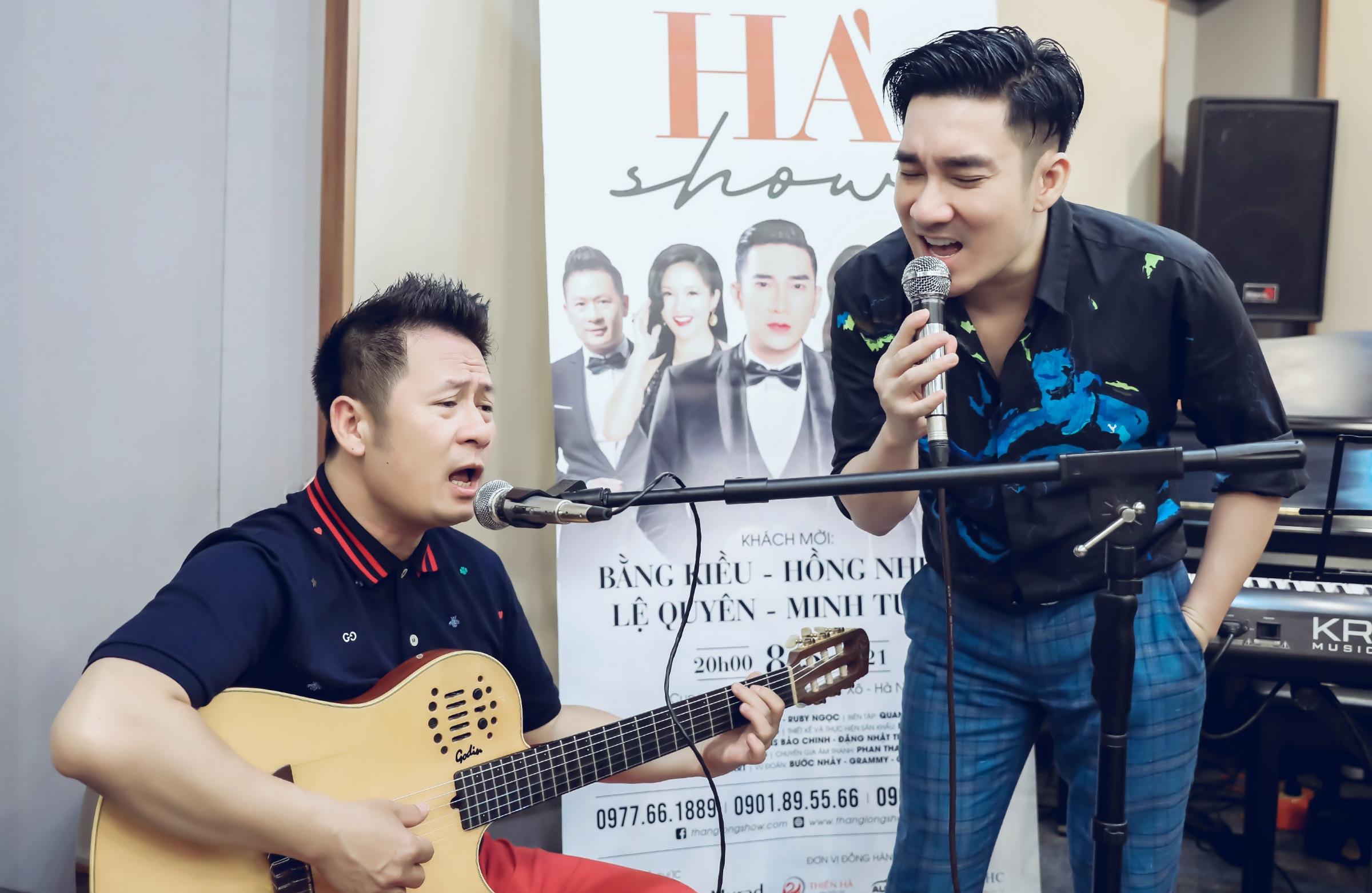 Quang Hà sụt 5 kg vì mất ăn mất ngủ cho liveshow - 1