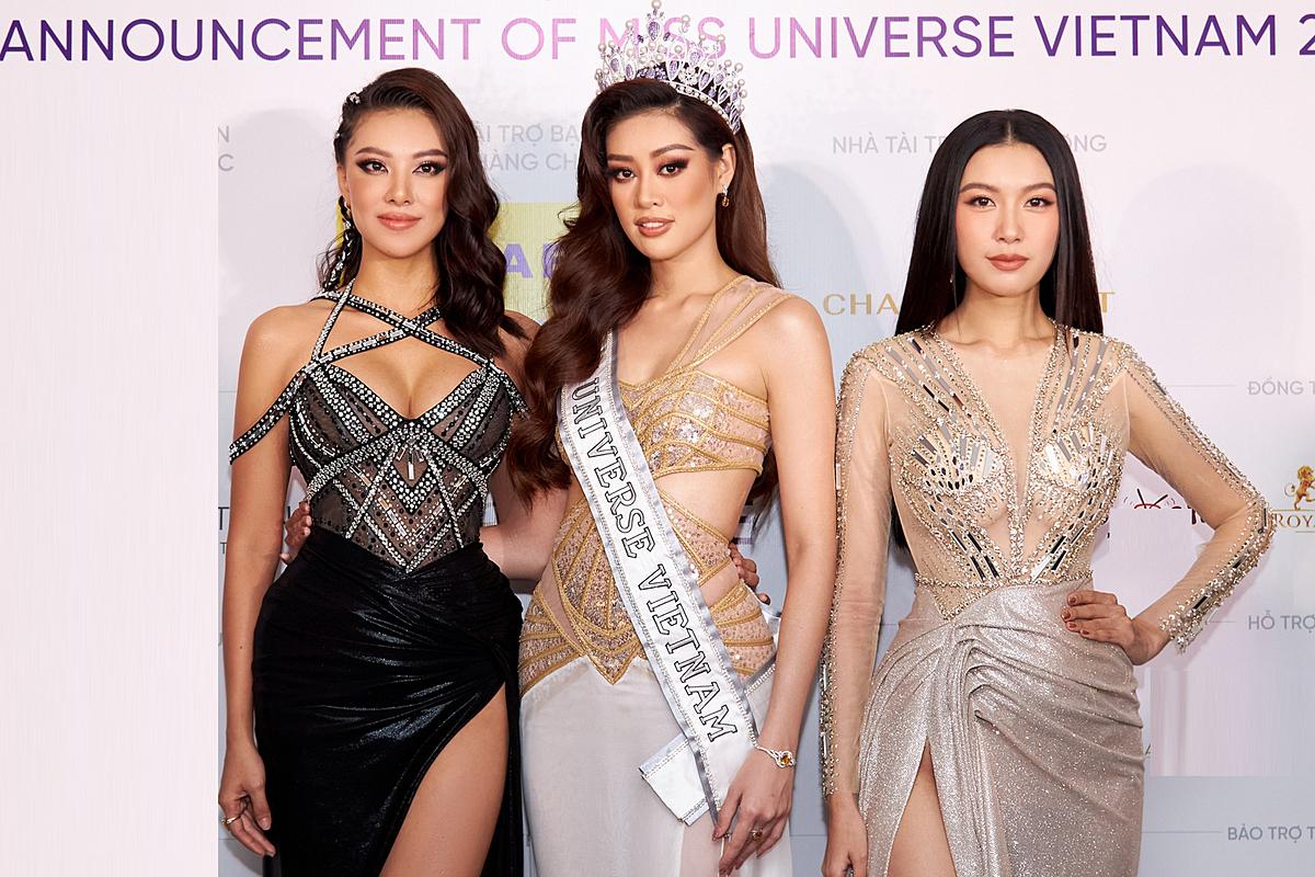Top 3 Hoa hậu Hoàn vũ Việt Nam 2019.