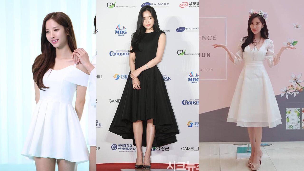 Bona (WJSN), Na Eun (Apink), Seo Hyun ngọt ngào với những mẫu váy xòe