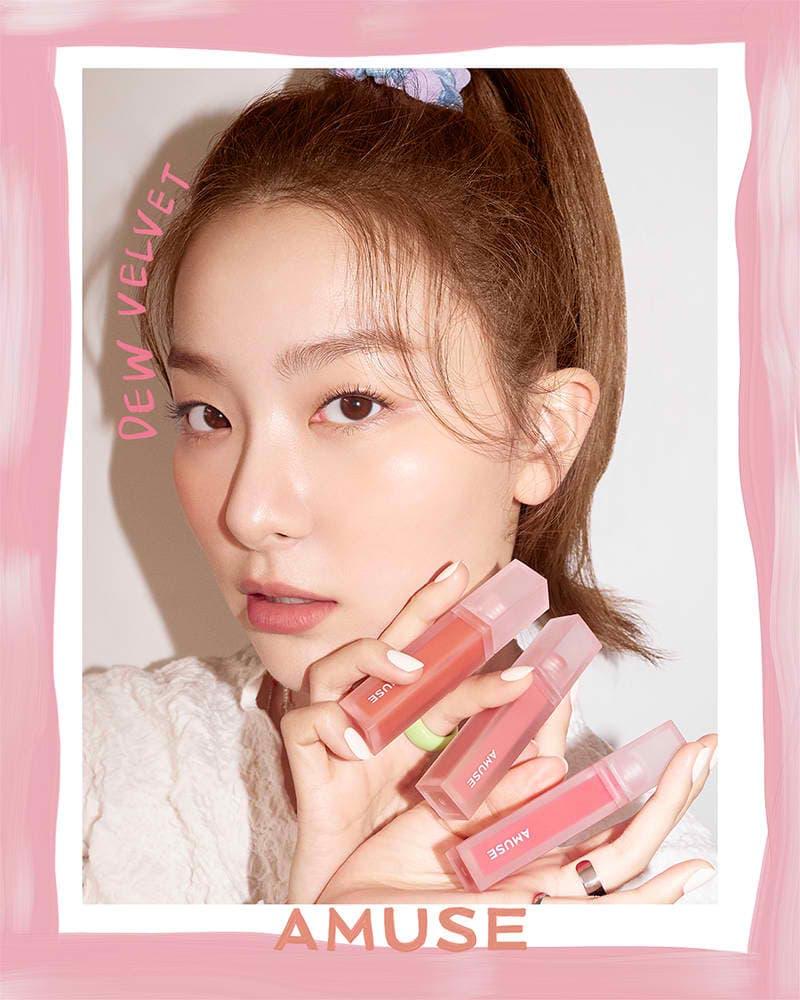 Thương hiệu Hàn Quốc giá bình dân Amuse vừa công bố Seul Gi là gương mặt người mẫu mới của hãng, quảng bá cho dòng sản phẩm Dew Velvet, được đo ni đóng giày cho thành viên Red Velvet. Năng lượng tươi sáng và tích cực cùng những rung cảm dễ chịu của Seulgi khi làm mẫu mới phù hợp với định hướng mà AMUSE muốn hướng tới. Chúng tôi rất vui mừng chào đón mô hình mới của AMUSE và chúng tôi mong muốn có thêm sức mạnh tổng hợp trong tương lai.