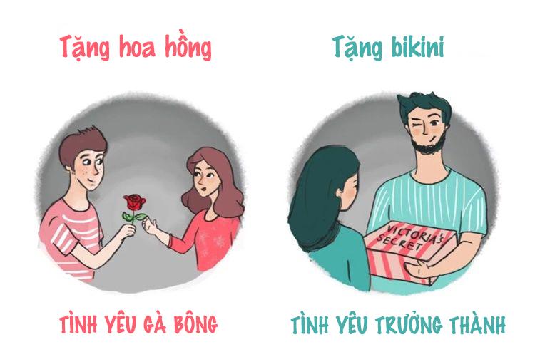Sự khác biệt giữa tình yêu gà bông và tình yêu trưởng thành - 2