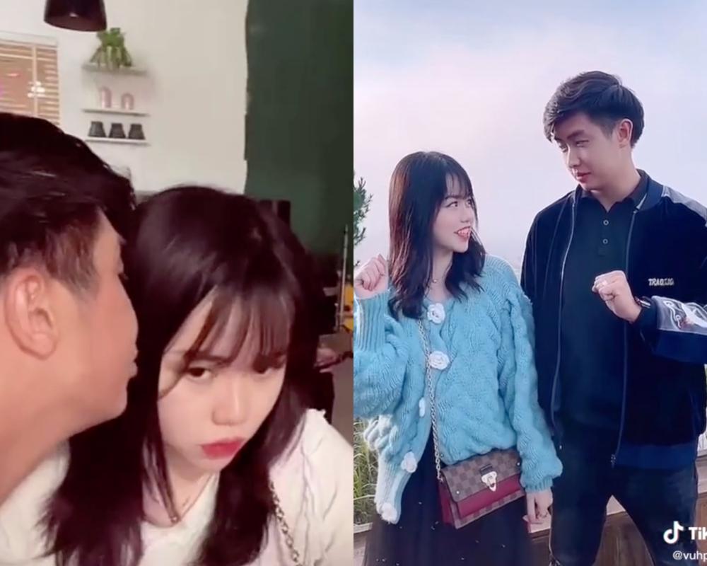Hình ảnh dấy nên tin đồn hẹn hò giữa Huỳnh Anh - Vũ Phương.