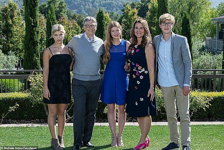 Gia đình Bill Gates.