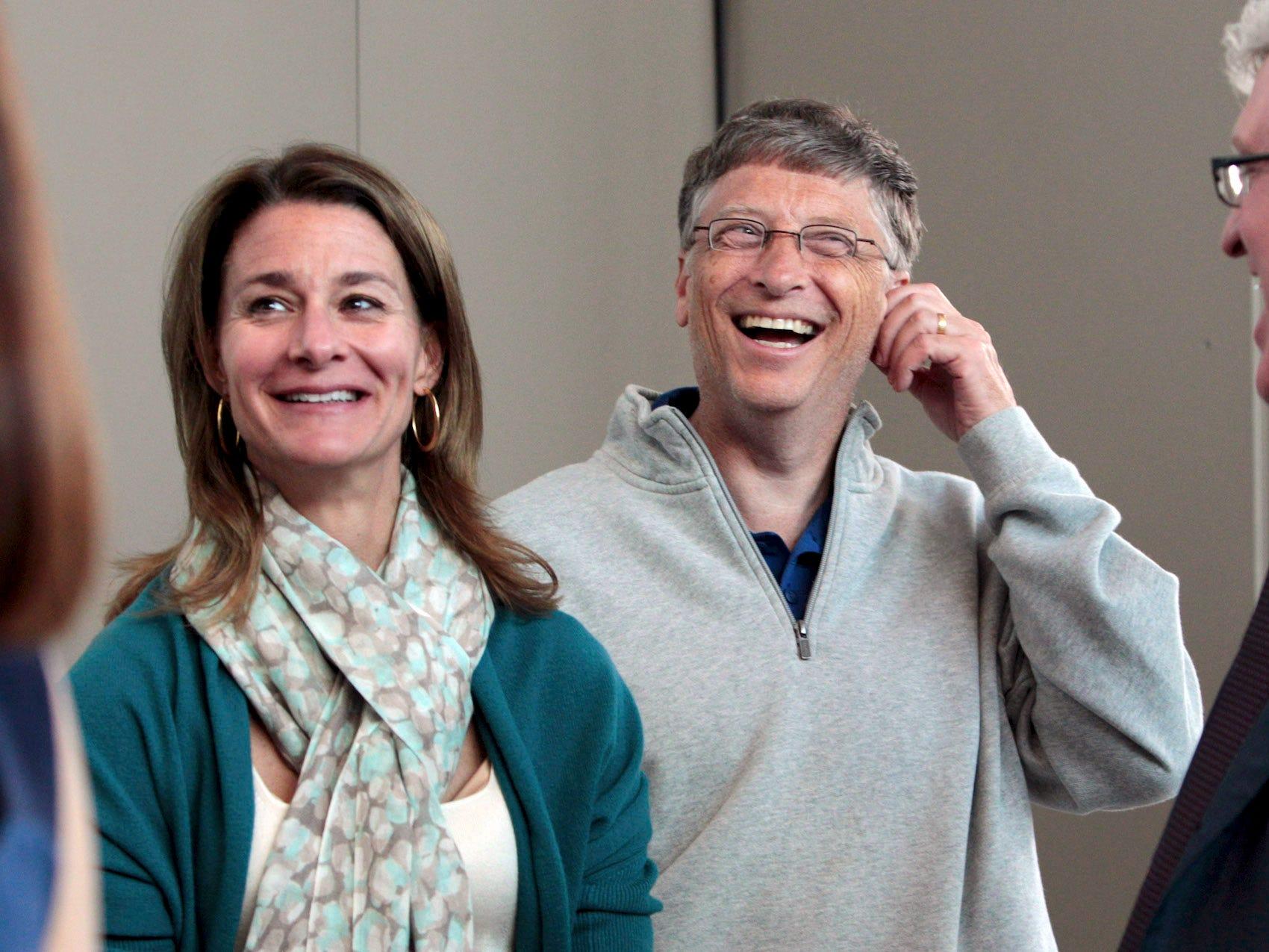 Chuyện tình 27 năm của Bill Gates qua ảnh - 6