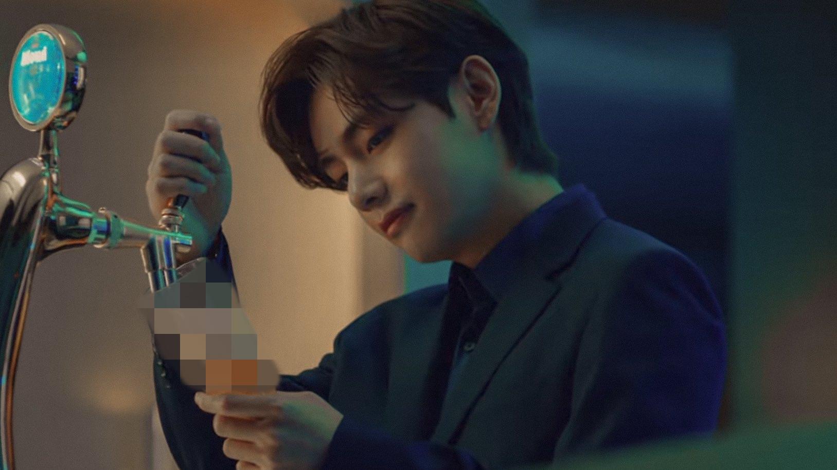 V làm nhân vật chính trong quảng cáo của BTS khiến akgae fan Jung Kook nổi điên