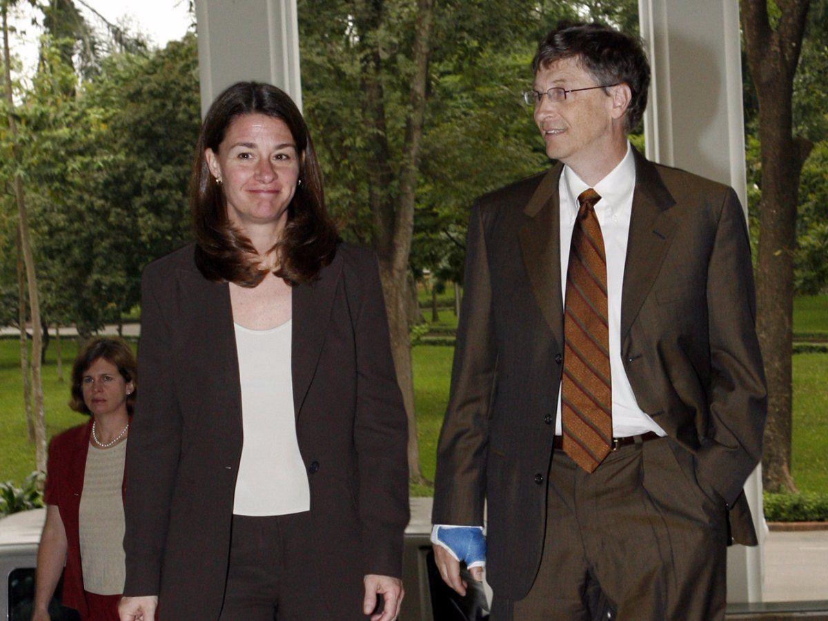 Chuyện tình 27 năm của Bill Gates qua ảnh - 4