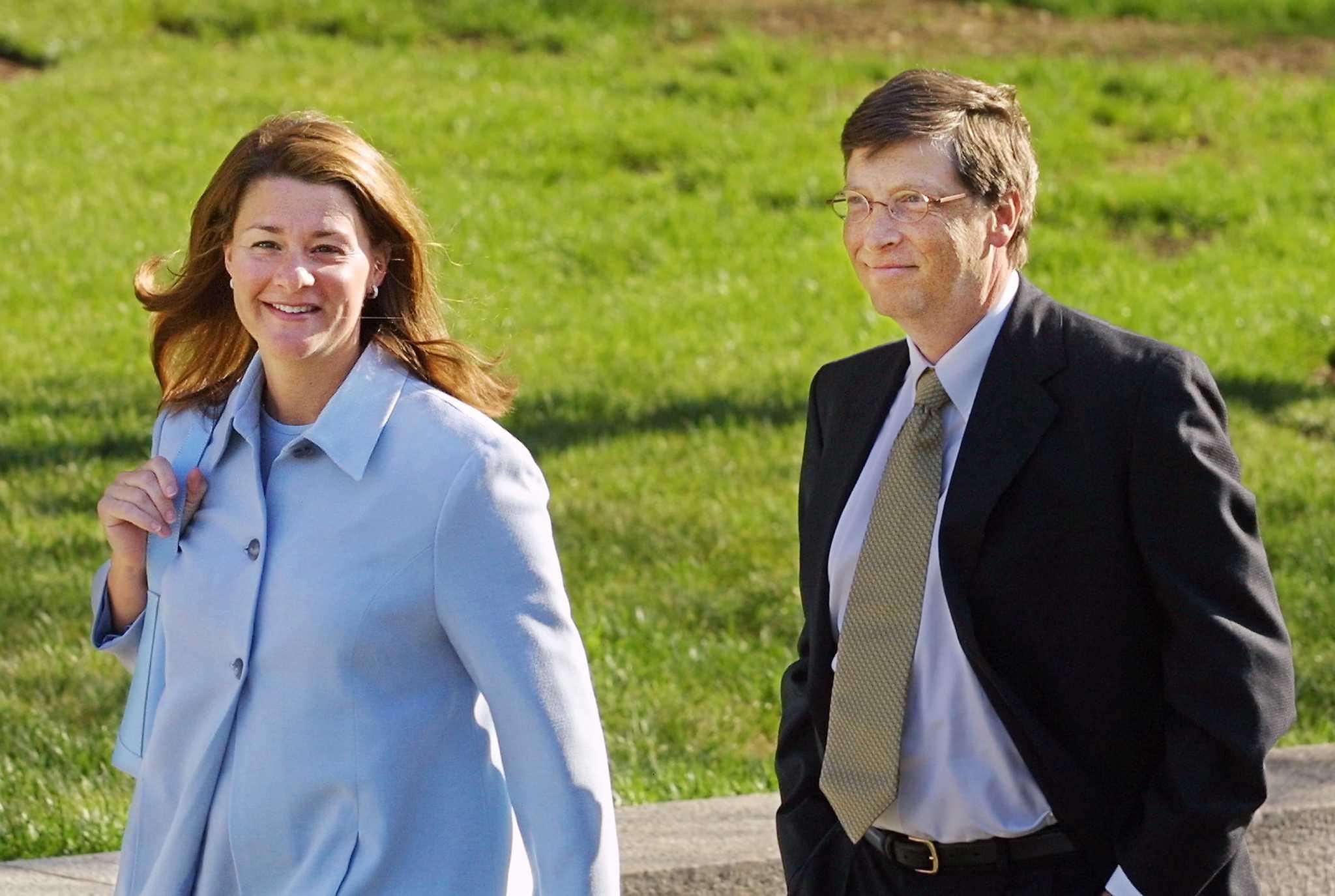 Chuyện tình 27 năm của Bill Gates qua ảnh - 7