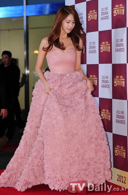 Trong năm đó, Yoona đóng chính trong bộ phim Cơn Mưa Tình Yêu của đài KBS2 cùng với nam thần Jang Geun Suk. Vai diễn trong bộ phim tình cảm, lãng mạn này đã giúp thành viên của SNSD nhận được rất nhiều tình cảm của khán giả và mang về nhà giải thưởng Netizen Award ở KBS Drama Awards 2012.