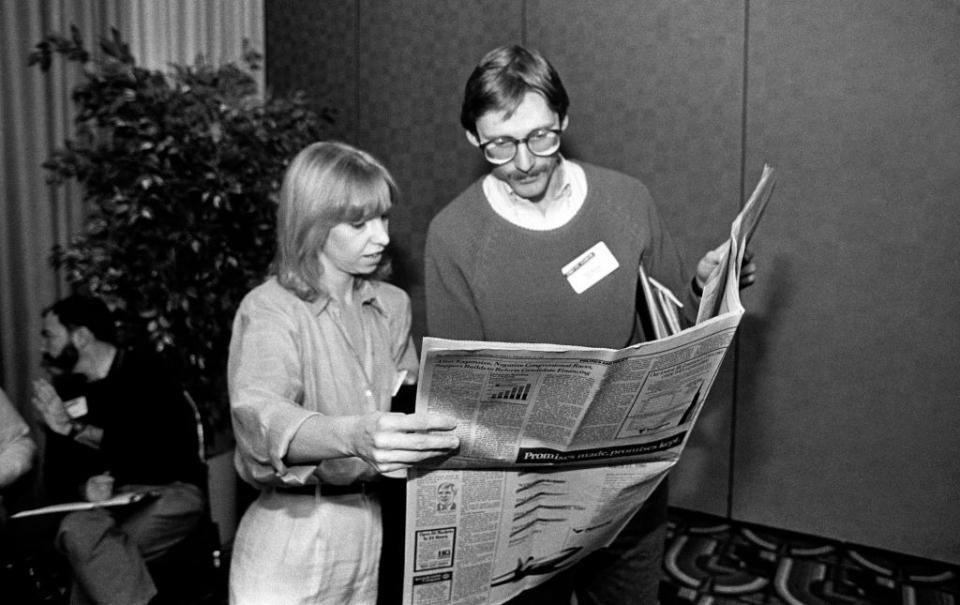 Ann Winblad thời hẹn hò với Bill Gates tại Microsoft vào những năm 1980.