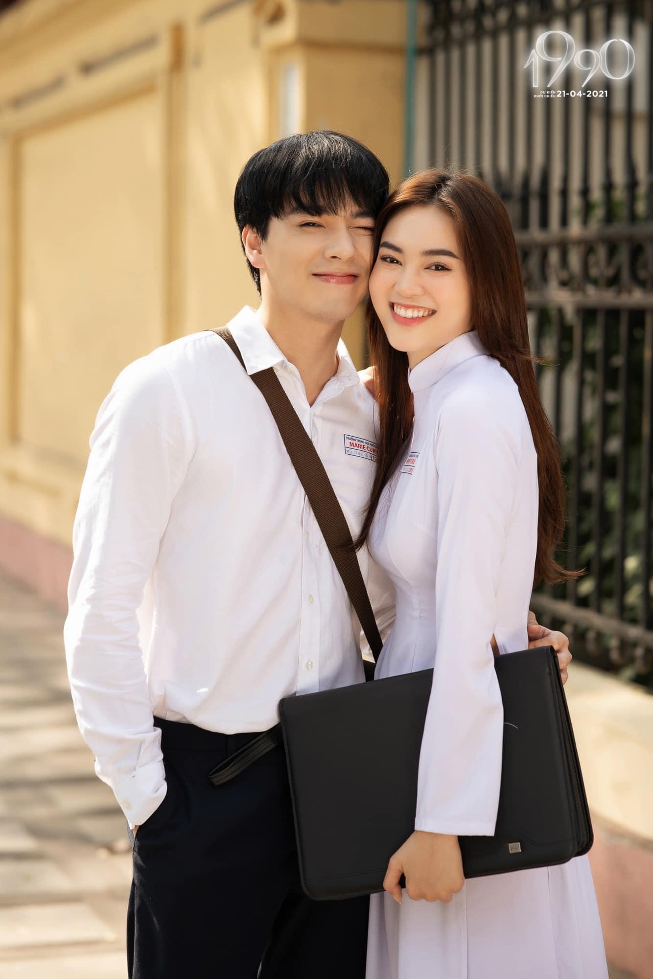 Nhiều người phát hiện gương mặt này cũng là bạn trai của Ninh Dương Lan Ngọc trong phim điện ảnh 1990, được công bố cách đó không lâu.