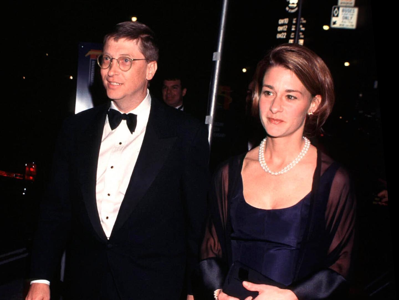 Bill Gates và Melinda những năm đầu kết hôn.