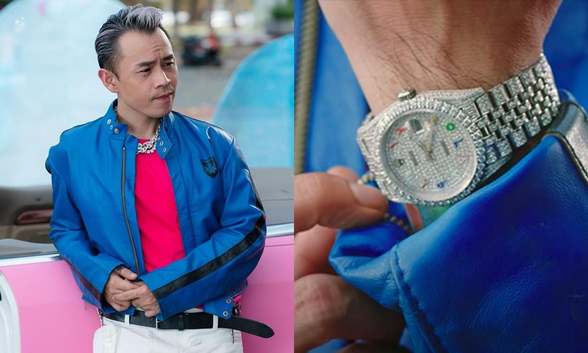 Binz đeo đồng hồ tiền tỷ trong MV mới.