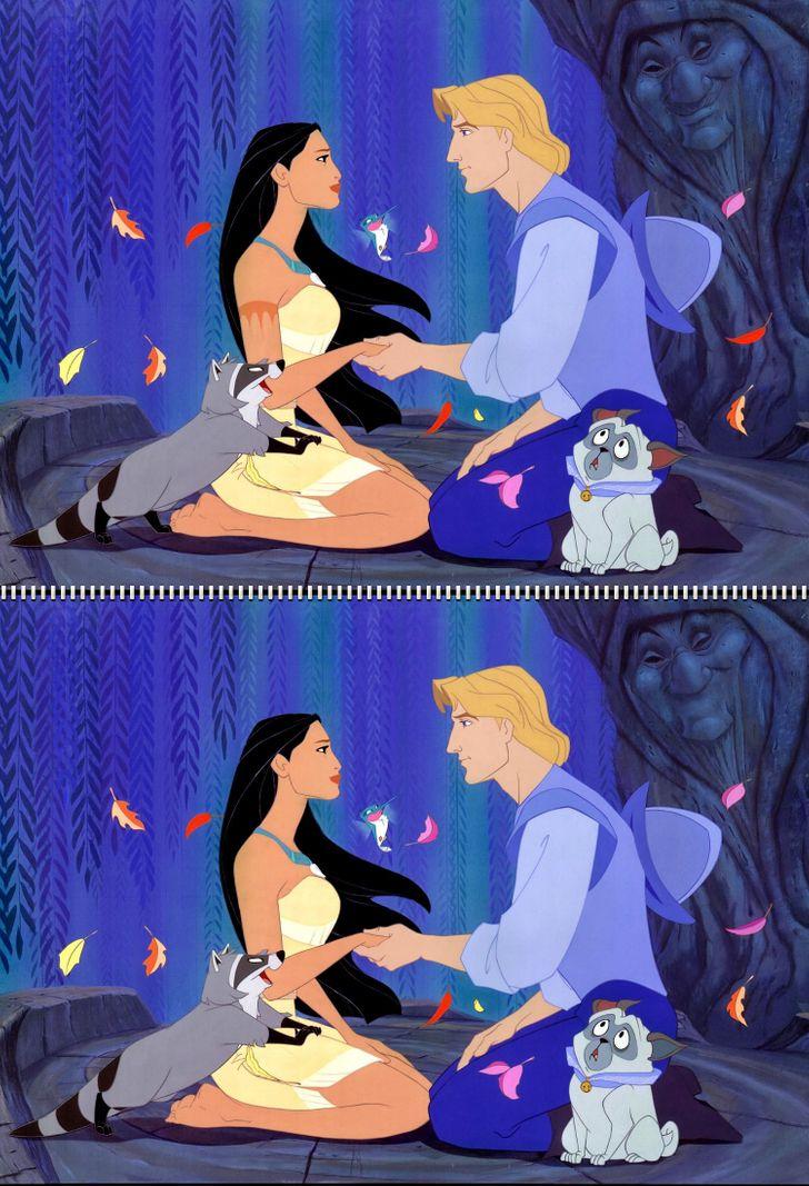 Fan Disney đích thực có tìm ra 5 điểm khác biệt trong hình