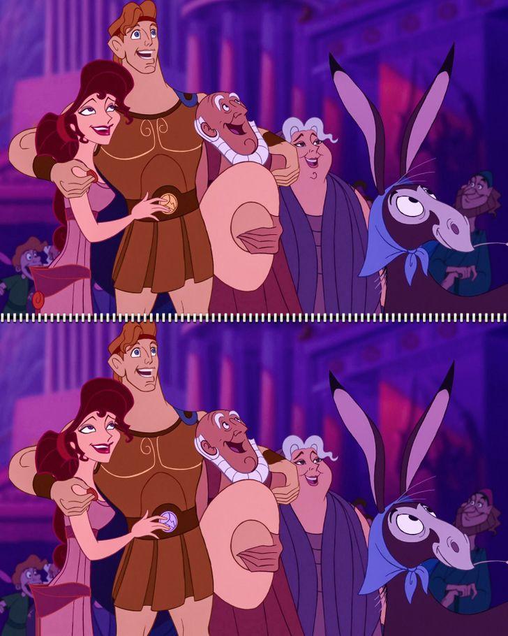 Fan Disney đích thực có tìm ra 5 điểm khác biệt trong hình - 2