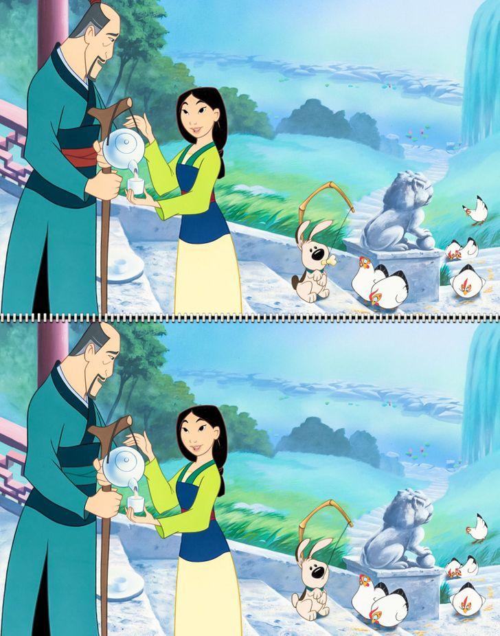 Fan Disney đích thực có tìm ra 5 điểm khác biệt trong hình - 3