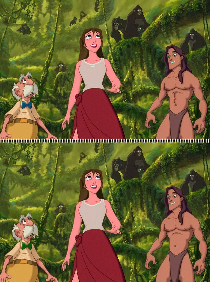 Fan Disney đích thực có tìm ra 5 điểm khác biệt trong hình - 4
