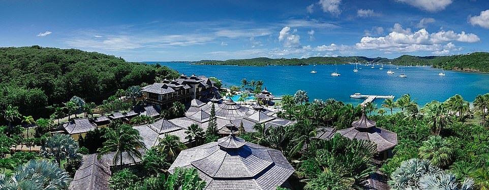 Hòn đảo tư nhân có giá thuê tới 132.000 USD/đêm.