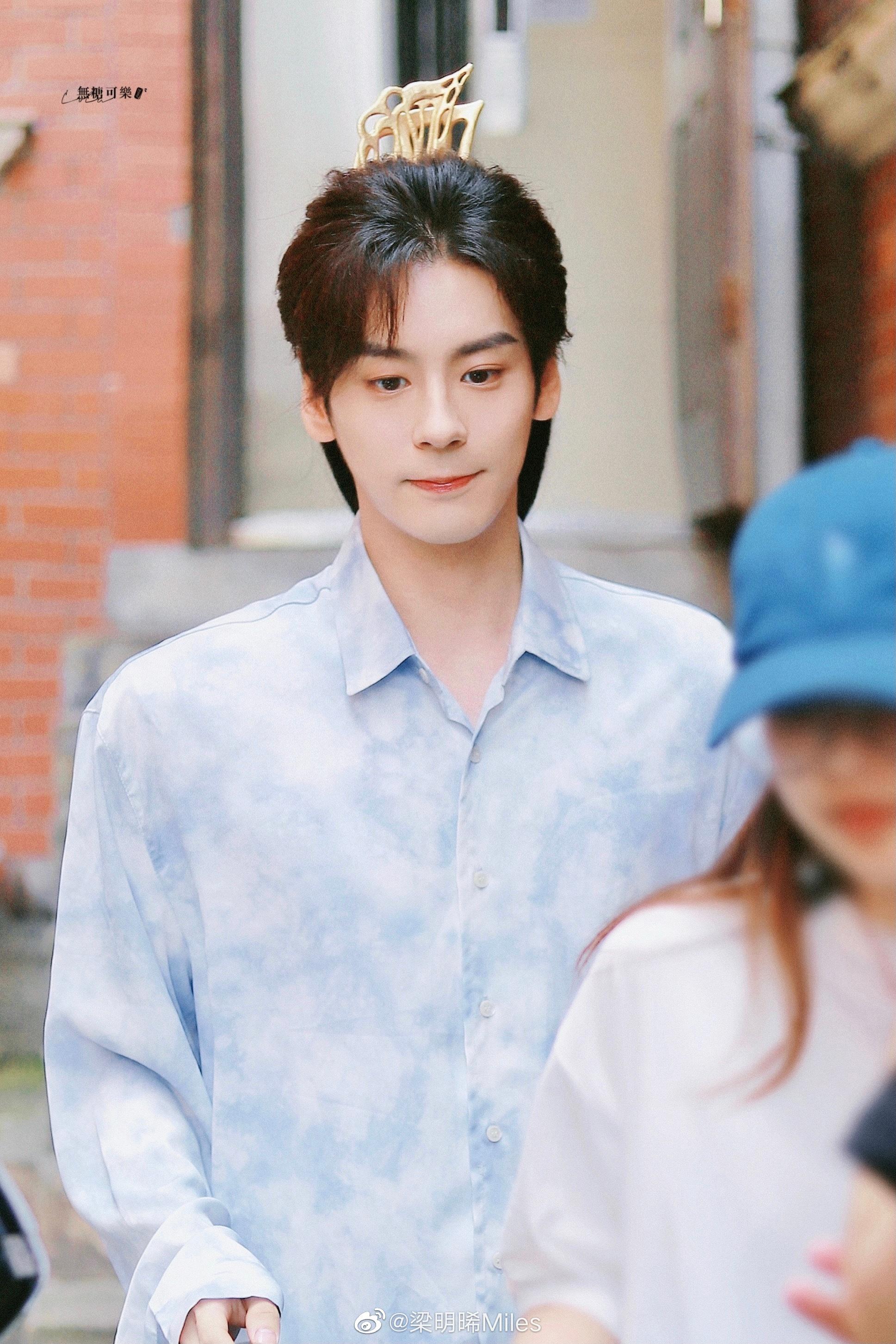 Hình ảnh của nam chính Ngụy Minh Triết kém nổi bật.