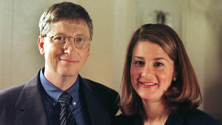 Bill Gates và vợ cũ Melinda thời mới hẹn hò.