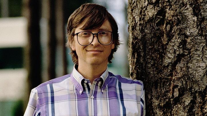 Bill Gates thời khởi nghiệp những năm 1990.