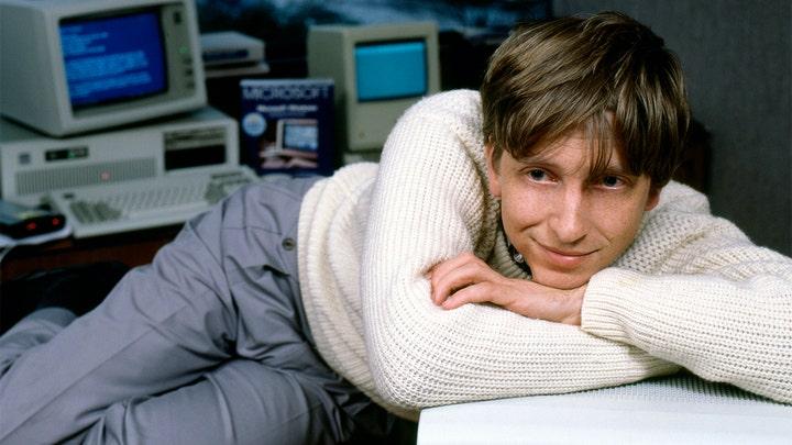 Bill Gates thời còn trẻ.
