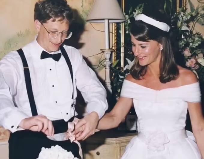 Đám cưới của cặp đôi diễn ra năm 1994.